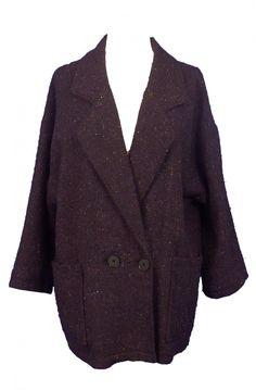 Vintage oversized coat