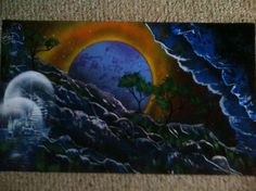 Spray Paint Art, see my FB page for info on how to obtain it