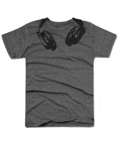 Youth Headphones t shirt funny shirt printed on by CrazyDogTshirts, $16.99