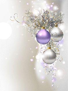 Purple Christmas, Christmas Colors, Christmas Art, Christmas Greetings, Vintage Christmas, Christmas Holidays, Christmas Bulbs, Christmas Decorations, Xmas
