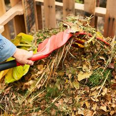 """How to Make Compost: This is a great article for getting started.  This will be a great addition to our """"greener"""" backyard. Thanks bhg.com"""