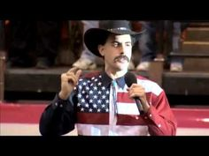 Borat rant and American National Anthem Funny Sites, Star Spangled Banner, National Anthem, I Love To Laugh, Rodeo, Baron, American, Youtube, National Anthem Song