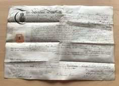 Parchment Indenture for an Apprentice Ironmonger dated 1886