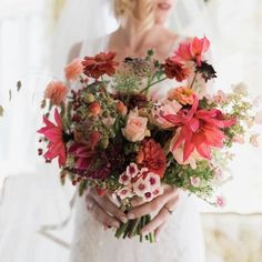 by Plume Photography Farmer, Bouquets, Studios, Floral Wreath, Wreaths, Bridal, Flowers, Red, Photography