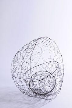 ghost baskets by Stella Harding