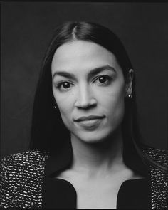 "@womenphotograph posted on their Instagram profile: ""Photo by @celestesloman / Portrait of Alexandria Ocasio-Cortez , originally photographed for The…"""