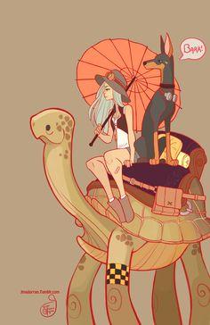 Character Design - Explorer by MeoMai on DeviantArt