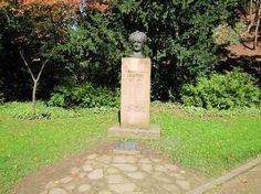 In het Schlosspark in Heidelberg staat een 2 meter hoog monument voor Goethe