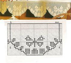 Miria крючком и картины: LOCKED OUT крючком с бабочками