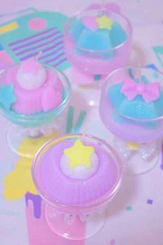 Kawaii candles