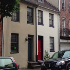 Row houses in Baltimore