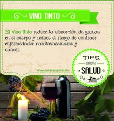 Si pensabas que el vino tinto era únicamente para festejar algo o combinarlo con la comida, aquí una pretexto más para seguir consumiendolo.