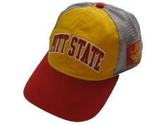 02a374d82d4 Pitt State Arch Adidas Mesh Back Hat - Gold Red Grey Tee Design