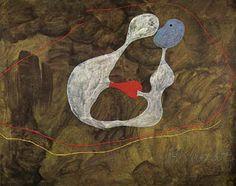 Joan Miro Masterpiece | Joan Miro - Love 1925