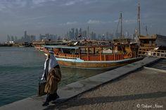 QA_170212 Qatar_0238 Dohan Dhow Harbour Travelling, Street View