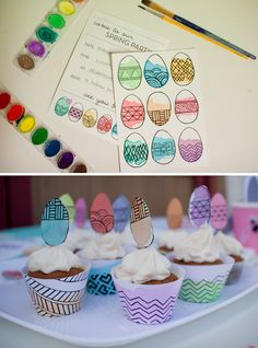 So cute! A Watercolor Easter Party.,  Go To www.likegossip.com to get more Gossip News!