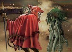 Top 19 des meilleures illustrations de Jamie Hewlett, le père de Gorillaz et Tank Girl   Topito