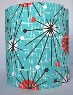 Large retro lampshade seen here at the beautiful surroundings of the retro print lampshade by ohsusannahx on etsy 3600 aloadofball Gallery