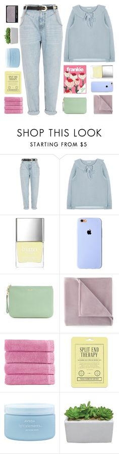 """aliza"" by sunstorms ❤ liked on Polyvore featuring River Island, Butter London, Rebecca Minkoff, Martex, Izod, Love 21, Aveda and NARS Cosmetics"