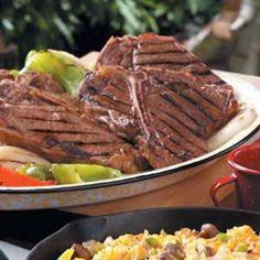 Grilled T-Bone Steak