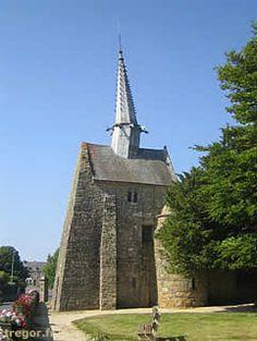 Chapelle Saint-Gonery (à Plougrescant).Bretagne