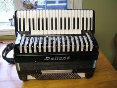 Dallape Artist lV Accordion- accordian in Musical Instruments & Gear, Accordion & Concertina Piano Accordion, Musical Instruments, Musicals, Dreams, Studio, Artist, Design, Music Instruments, Artists
