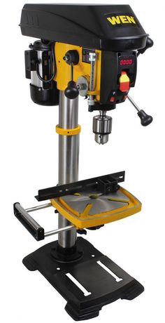 "Wen 5/8"" Variable Speed Drill Press With 12"" Swing"