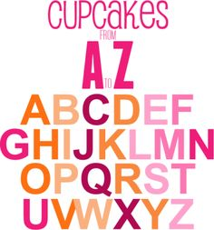 Best Friends For Frosting offers a cupcake flavor for any occasion from A-Z!