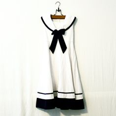 Ginger // Vintage Sailor Dress