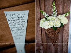 wedding note thank you-love the script Wedding Notes, Farm Wedding, Wedding Stuff, Wedding Styles, Wedding Ideas, Dear Friend, Script, Place Card Holders, Weddings