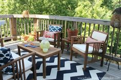 Love this beautiful summer home tour from @Matty Chuah Happier Homemaker.