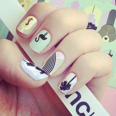 art deco nails - Google Search