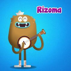 Do-re-mi-Do-re-mi, me gusta la #música y #jugar como a ti! soy Rizoma y si quieres saber tu canción… dímelo a mi!