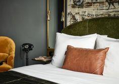 Eine neue Hotelgruppe verleiht ihren Häusern individuellen Charakter durch den Einsatz fiktiver Figuren – wie etwa Sir Savigny in Berlin.