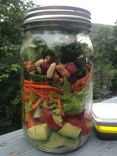 Vegan Recipe: Mason Jar Salad