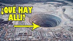 ¿Qué encontraríamos si cavasemos un hoyo muyyyy profundo?