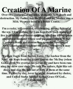 a Marine Marine Corps Quotes, Marine Corps Tattoos, Marine Corps Humor, Usmc Quotes, Us Marine Corps, Marine Tattoo, Usmc Tattoos, Quotes Quotes, Military Quotes