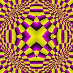 Effetto optical in movimento...