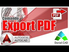 AutoCAD 2015 | Comando Export PDF