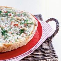 Tomaatti-mozzarellapiirakka - K-ruoka