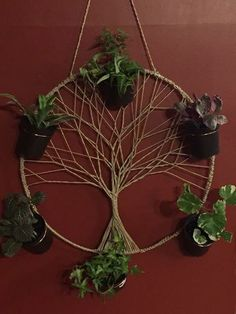 Picture of Tree of Life Wall Plant Hanger