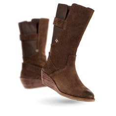 EMU Australia Allira Womens Cow Leather Heel / Wedge City in Espresso -- Read more at the image link. (This is an affiliate link and I receive a commission for the sales)
