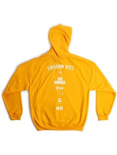 Shadow Hill Tangerine Oversized Merch Hoodie