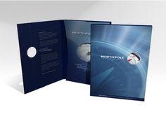 NorthPole Sales Presentation, Folder Design, Point Of Sale