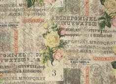 Rosen & Postkarten - Multi Wallflower Vintage Rose Parcel - Tim Holtz Eclectic Elements Phase 3
