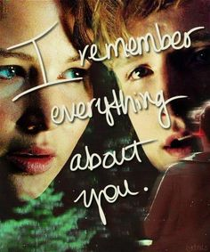 I remember everything about you#HungerGamesExplorer