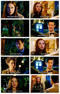 """❦  (Gif - click on pic)  """"The Wedding of River Song 