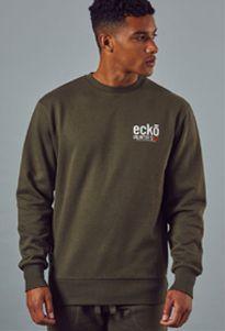 1f146d58d7d13d Ecko Unltd. GTO Crew Sweat Herren Sweatshirt ESK4332 Grape Leaf