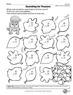 2Digit Addition Coloring Worksheets math Math