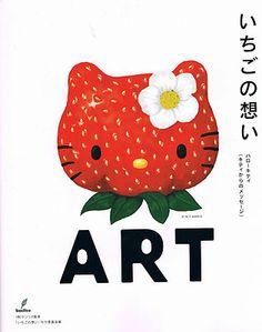 Hello Kitty Art Books Collection Goods Strawberry Kitty Japan Kawaii Sanrio | eBay